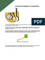 Uso de Los Instrumentos de Medidas en El Laboratorio