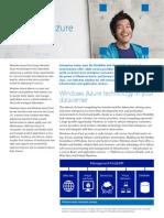Azure Pack Overview Datasheet