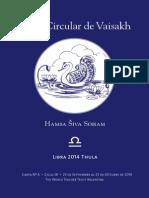 Carta Circular de Vaisakh - Libra 2014