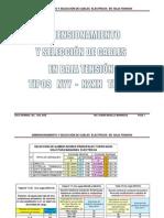 DIMENSIONAMIENTO Y SELECCION DE CABLES ELECTRICOS.pdf