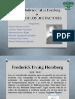 Teoria Motivacional de Herzberg