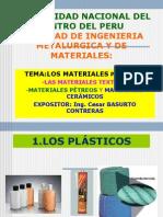 Los Materiales Plasticos