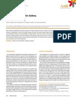 Immunomodulators for Asthma