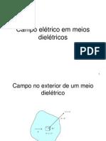 Campo Elétrico Em Meios Dielétricos