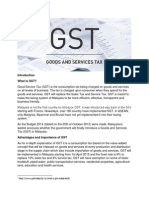Introduction GST