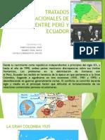 Tratados Internacionales de Limites Entre Perú y Ecuador