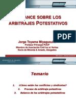 Jorge Toyama - Arbitraje Potestativo, Una Medida de Solución- Balance General