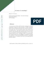 Science of Cosmolog-0910.4333v1