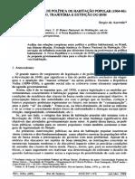 AZEVEDO 1988 - 22 Anos de Política Habitacional