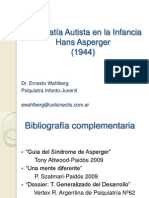 Walhlberg - Psicopatia Autista en La Infancia