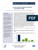 Pressure Ulcers Among Nursing Home Residents