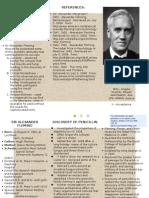 Alexander Fleming Brochure