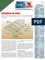 Galpones, Estructuras de Acero