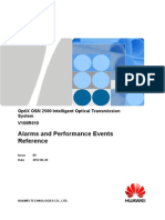 OptiX OSN 2500 Alarms and Performance Events Reference(V100R010)