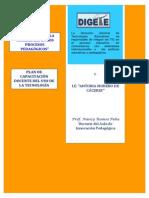 Plan de Capacitacion Aula de Innovacion 2014