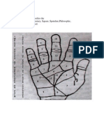 Astro Palmistry Notes