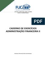 Caderno de Exercicios Adm Financ i 2010(1)