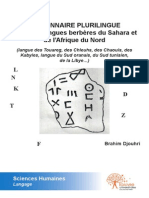 Edilivre Dictionnaire Plurilingue Francais Langues Berberes Du Sahara Et Preview
