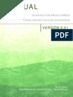 Manual de Manejo de Areas Verdes