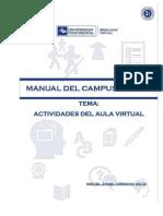 Actividades Aula Virtual 2014I