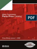 Allison Transmission Price List 12-19-07