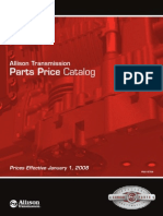 Allison Transmission Price List 12-19-07