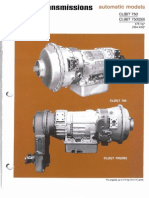 CLT-755 Allison Transmission Specifications