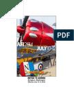 Arlington Flyin instructions for pilots