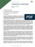 Ley de Aviacion Civil, Codificacion