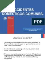 Accidentes Domésticos Comunes