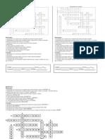 Crucigrama Propiedades de La Materia