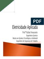 Aula 01 - Eletricidade Aplicada