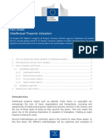 Fact Sheet IP Valuation 0