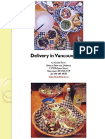 Delivery in Vancouver British Columbia