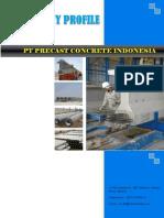 PT Precast Concrete Indonesia Company Profile