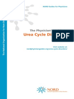 NORD Physician Guide to Urea Cycle Disorders