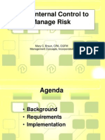 Using IC to Manage Risk