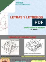 Clase 3b Letras y Letreros 2014
