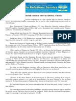 sept19.2014 b.docBill to establish full consular office in Alberta, Canada