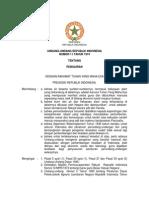 Undang Undang Nomor 11 Tahun 1974 tentang Pengairan
