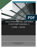 Glosario Historia Contemporanea