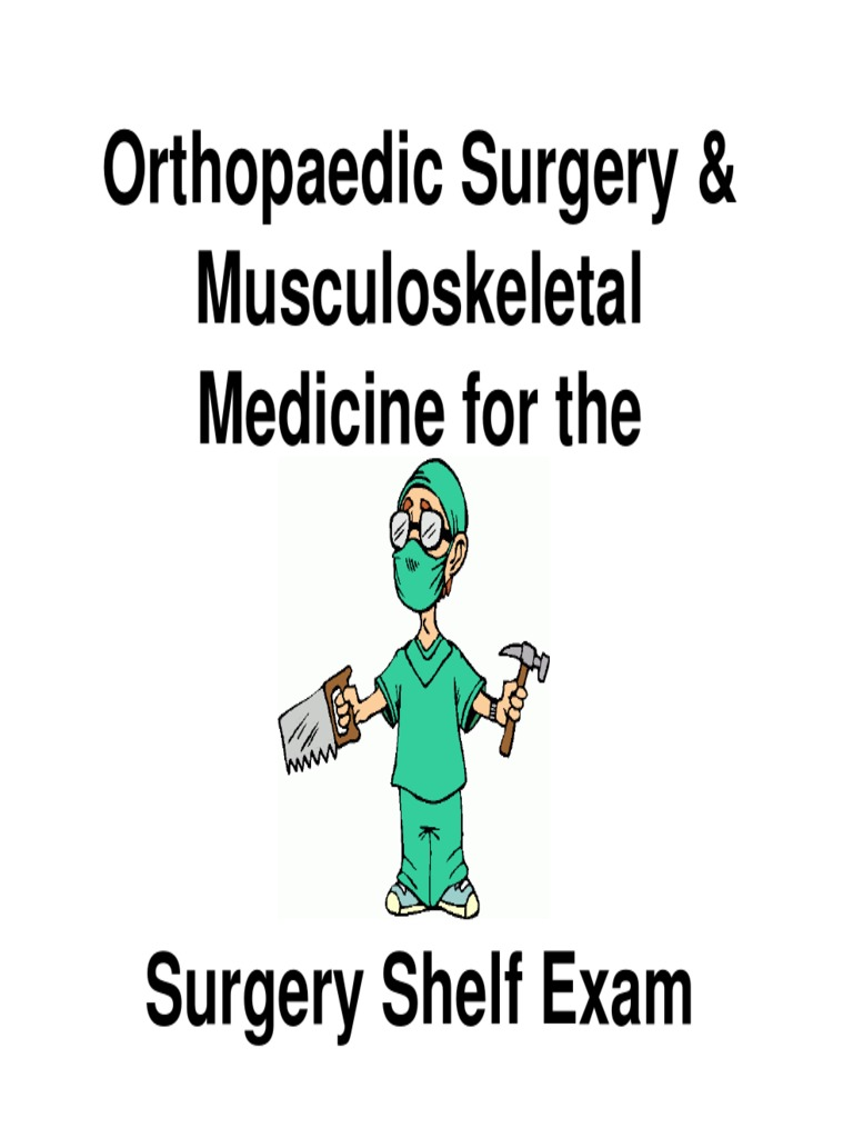 Ortho for Gen Surg Shelf [Compatibility Mode]