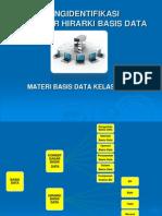 Materi II Strutur Hierarki Basis Data - Copy