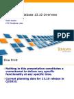 Teradata 13.10 Features