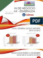 Revision de Negocio Calimax - Esmeralda 2014