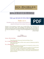 The 1997 Rules of Civil Procedure