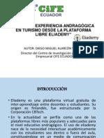 Ponencia Experiencia Andragógica Eliademy Bogotá 2014
