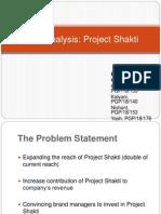 Case Analysis HUL Project Shakti