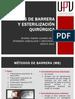 Métodos de Barrera y Esterilización Quirúrgica