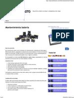 Mantenimiento batería « elpesaodelamoto